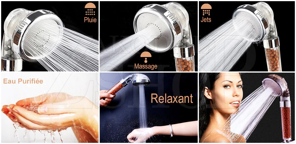 douche eco thermale spa triple action