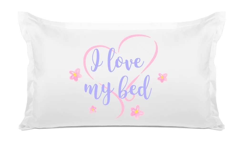 https www dilewis com products quote pillow cases i love my bed