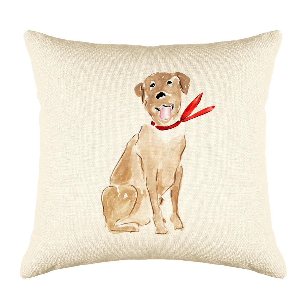 labrador throw pillow cover dog illustration throw pillow cover collection