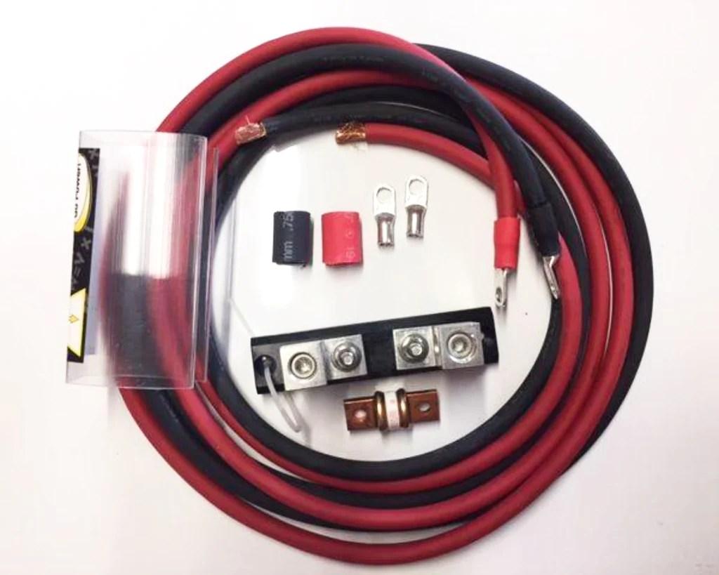 small resolution of 1000 watt inverter installation kit includes 200 amp fuse