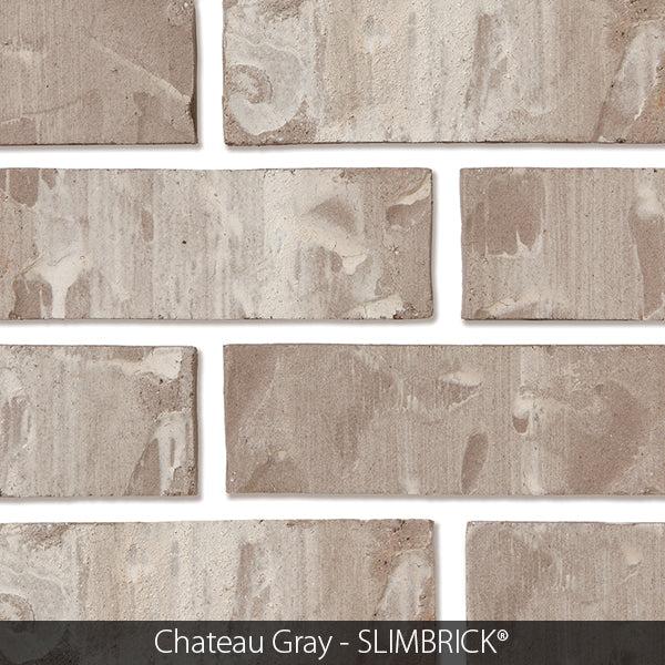 chateau gray craftsman slimbrick thin brick tile