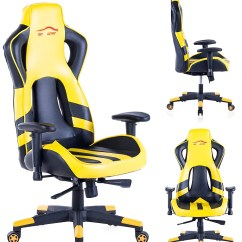 Top Gaming Chair Chairs To Help You Stand Up Gamer Pc Computer Game Video Blue Cartrigeblower
