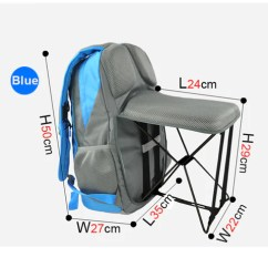 Fishing Chair Rain Cover Stop Chairs From Sliding On Wood Floors Backpack Dealz Maniac Yes Model Number C1313 Color Blue Red Green Black Size 35 27 50cm Weight 1 7kg Fit For Travel Hiking Mountaineer