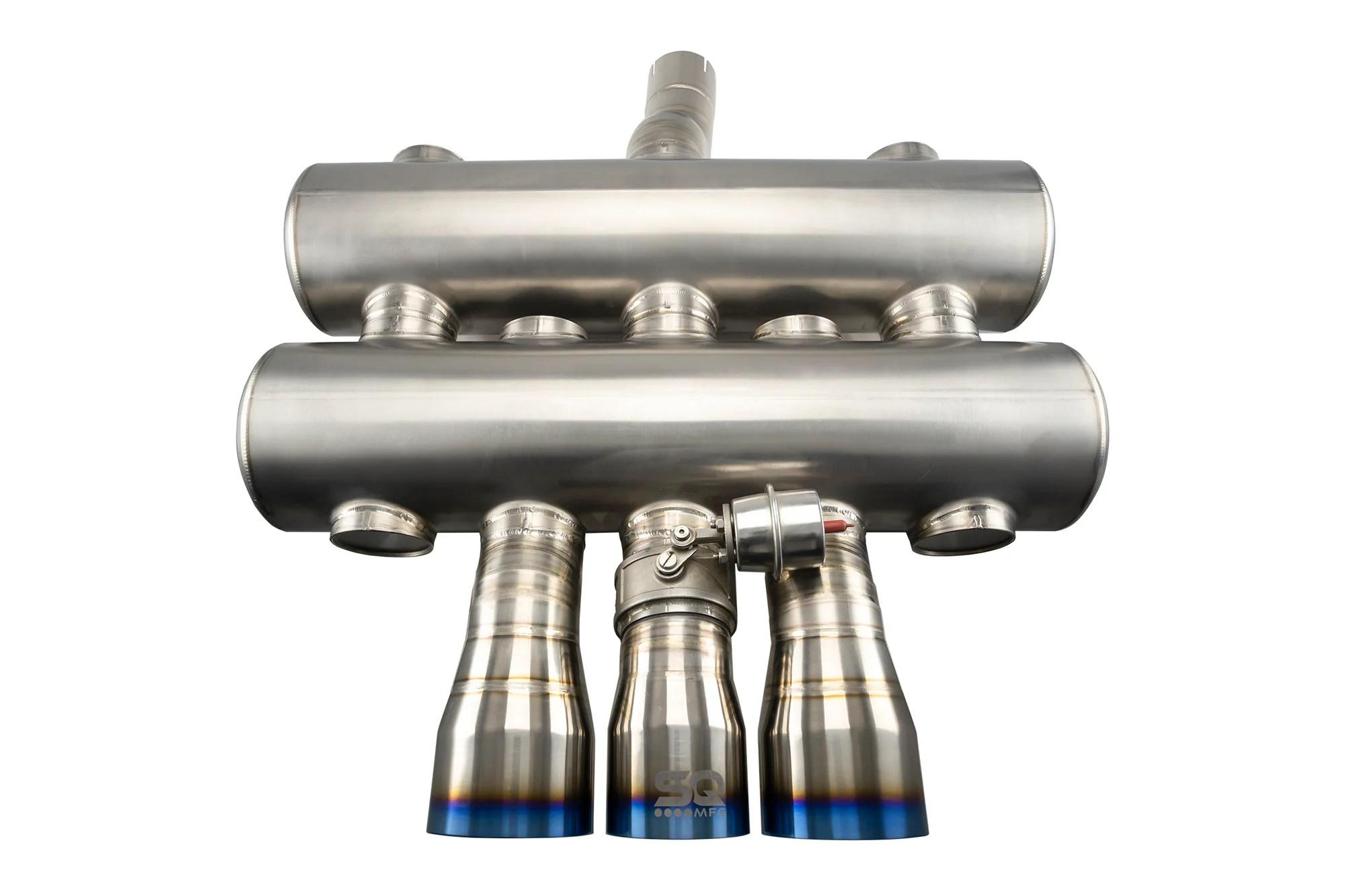titanium active street catback exhaust fk8 honda civic type r