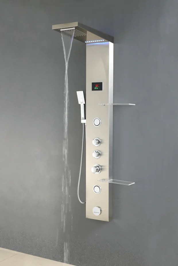 SHOWER PANEL MODENA ASP 9155 SS NEW Apollo Us