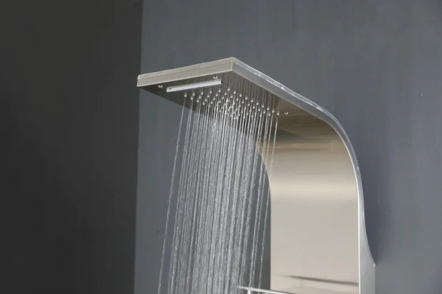 SHOWER PANEL TURIN ASP 11055 SS NEW Apollo Us