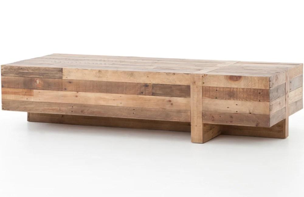 stowe block coffee table