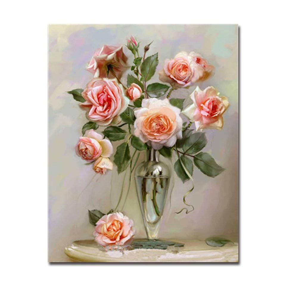 gloomy pink roses diy