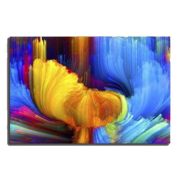 bright enchanting abstract canvas