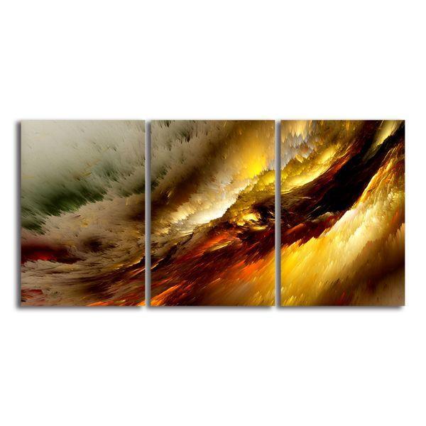 bright waves 3 panels