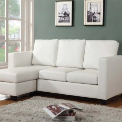 Apt Size Sectional Sofas Retro Sofa Sale Urban Cali Newport Leather Small With Reversible Chaise Cream Condo Apartment Sized Left Facing By