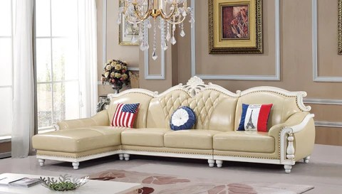 leather sofa sets for living room modern italian furniture american set china wooden frame l shape corner