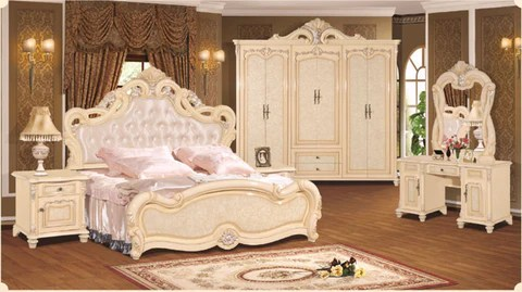 Luxury Suite Bedroom Furniture Of Europe Type Style Including 1 Bed 2 Durawaystore Com
