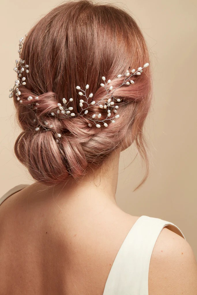 Bridal Hair Vines Effortless Chic And Comfortable By