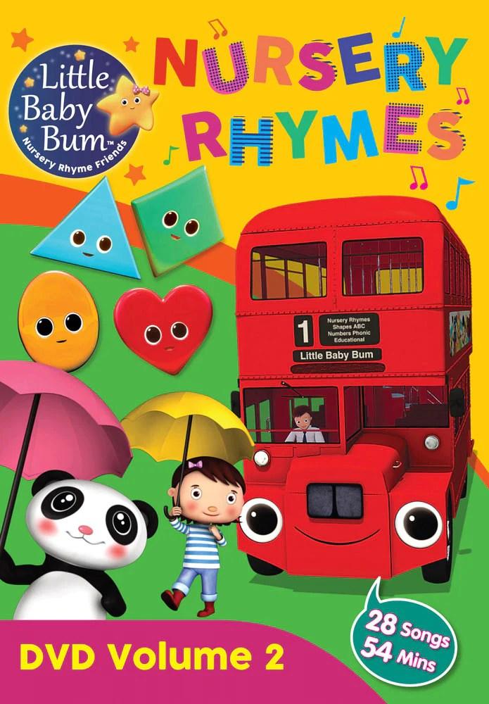 Little Baby Bum The Wheels On The Bus : little, wheels, Volume, Nursery, Rhymes