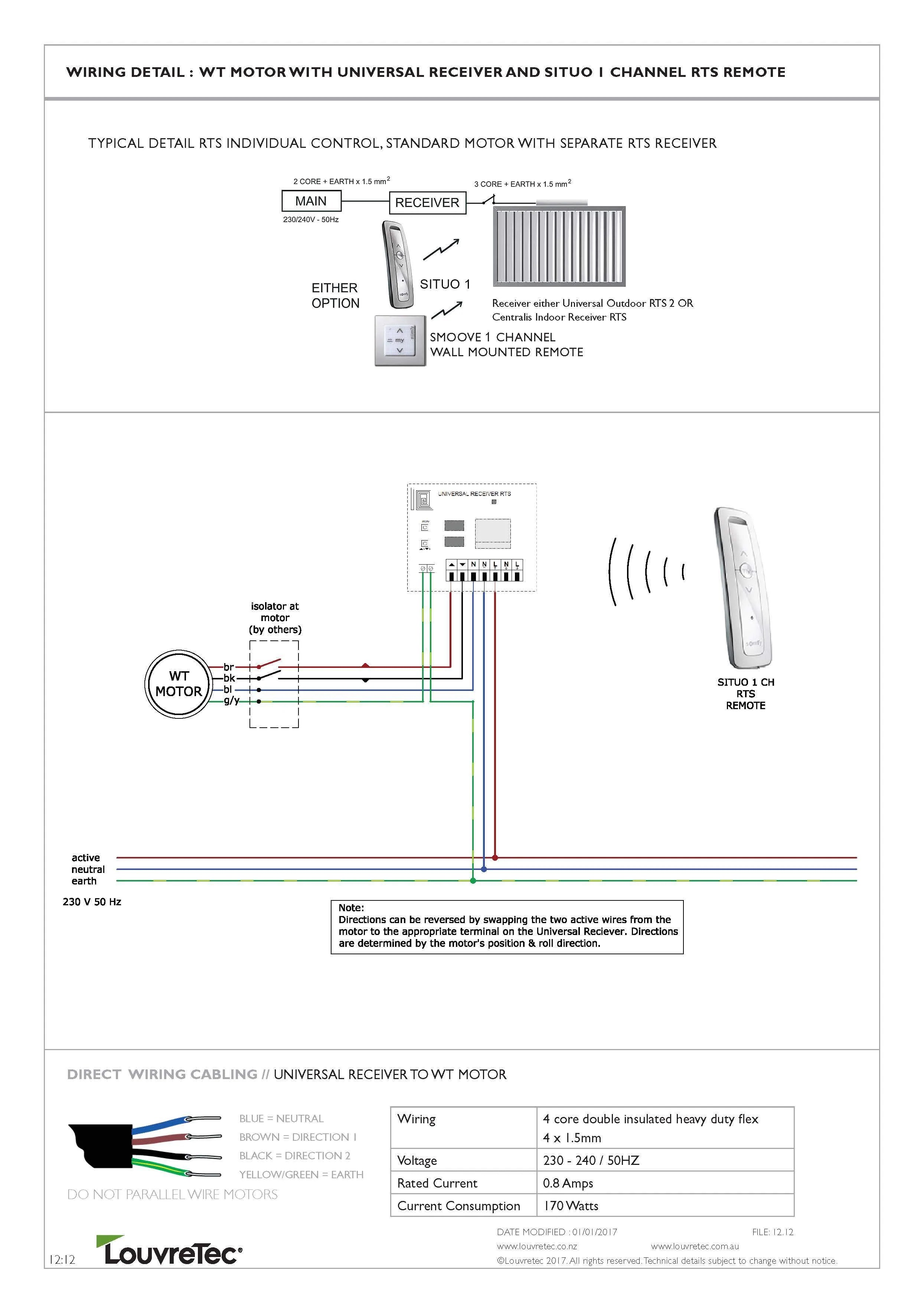 hight resolution of rts motor wiring diagram wiring diagram reviewtechnical wiring diagrams louvretec australia rts individual control w rts