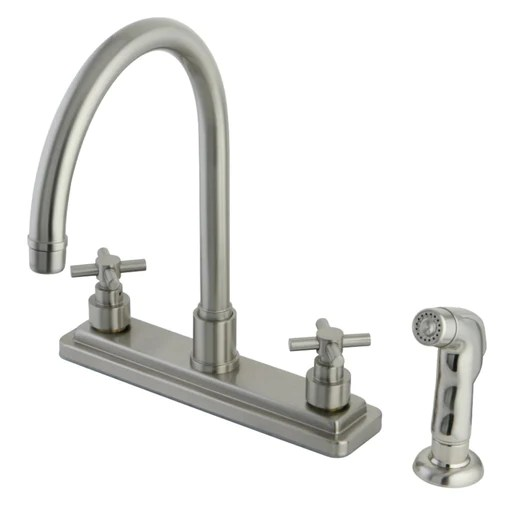 kitchen faucets with side sprayer for