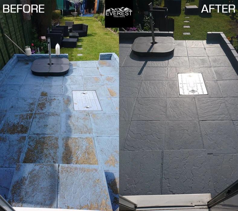 everest trade ultimate qd concrete floor paint sealer internal external anti slip