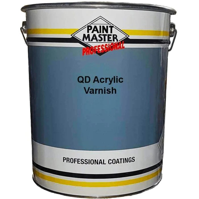 Paintmaster Quick Drying Acrylic Varnish Satin Gloss 20 Litre Premium Paints