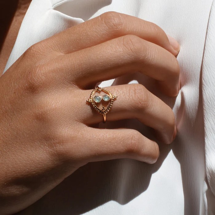 Ana Luisa LIMITED EDITION Iset Gemstone Ring