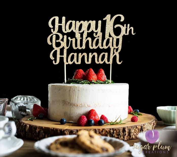 happy 16th birthday cake