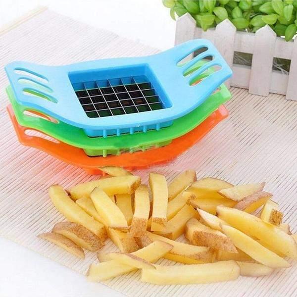 coupe frites legumes poignees
