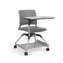 Ki Strive Chair Cool Chairs For Living Room Learn2 L2stp Na Fbr Mobile With Tablet Arm Kay And Flat Accessory Rack