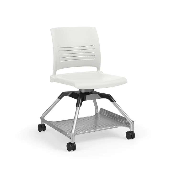 ki strive chair office stretches learn2 l2snp na fbr mobile with flat accessory rack