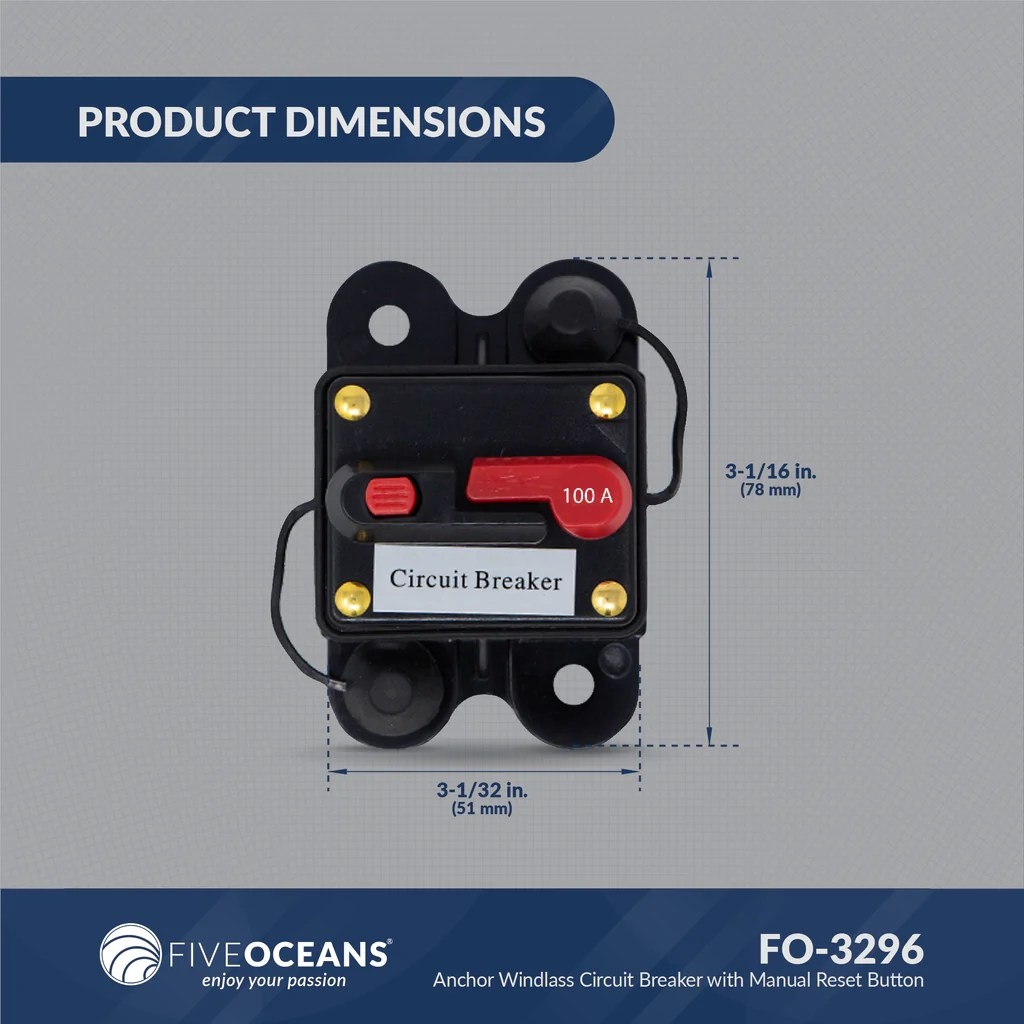 hight resolution of  diagram fuel 100 amp anchor windl circuit breaker w manual reset button 12v bilge pump switch