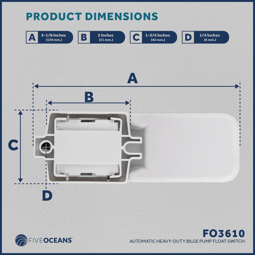 medium resolution of automatic boat bilge pump float switch 20 amps five oceans