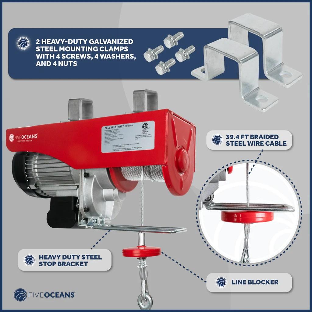 medium resolution of overhead electric hoist crane five oceans