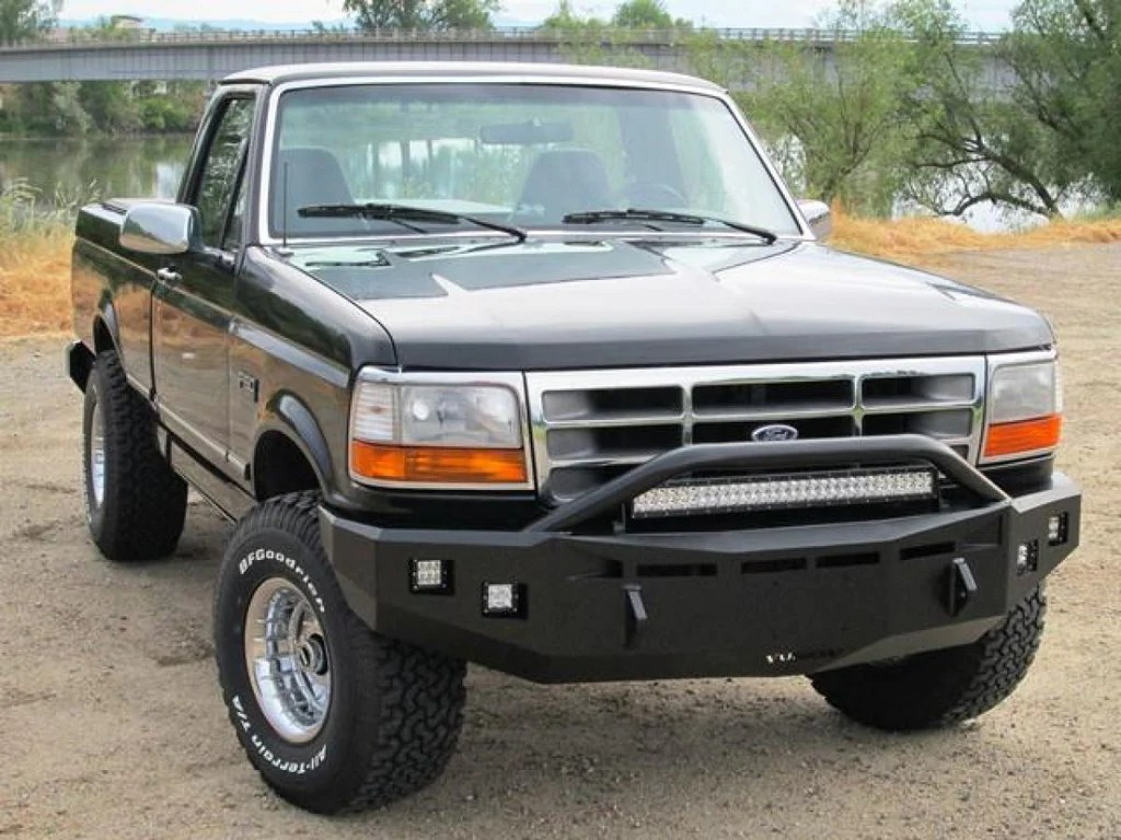small resolution of front fusion bumper 1992 1997 ford f 250 f 350