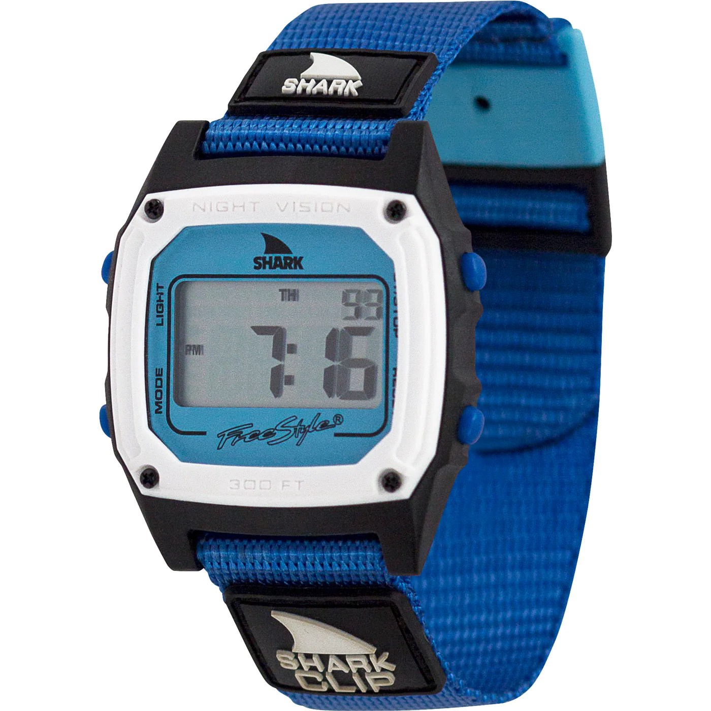 Freestyle Watches Shark Classic Clip Deep Blue Sea Unisex Watch - Usa