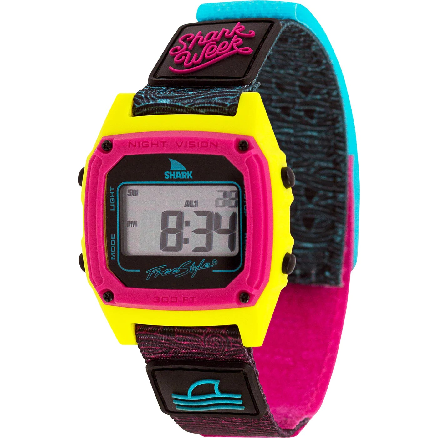Waterproof Sports Watches Surf Tide And Dive Watch