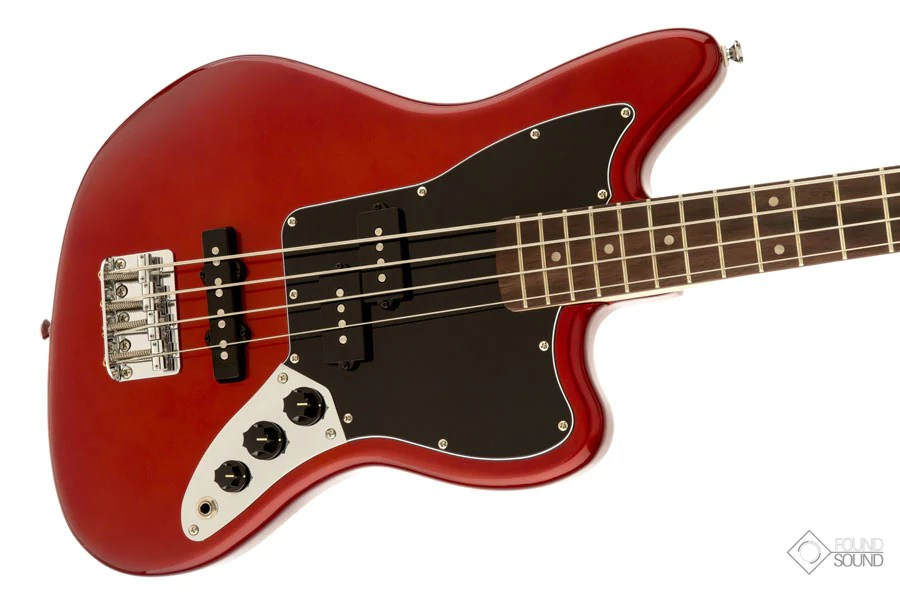 Found Sound - Fender Squier Vintage Modified Jaguar Bass Special SS - Candy Red - La