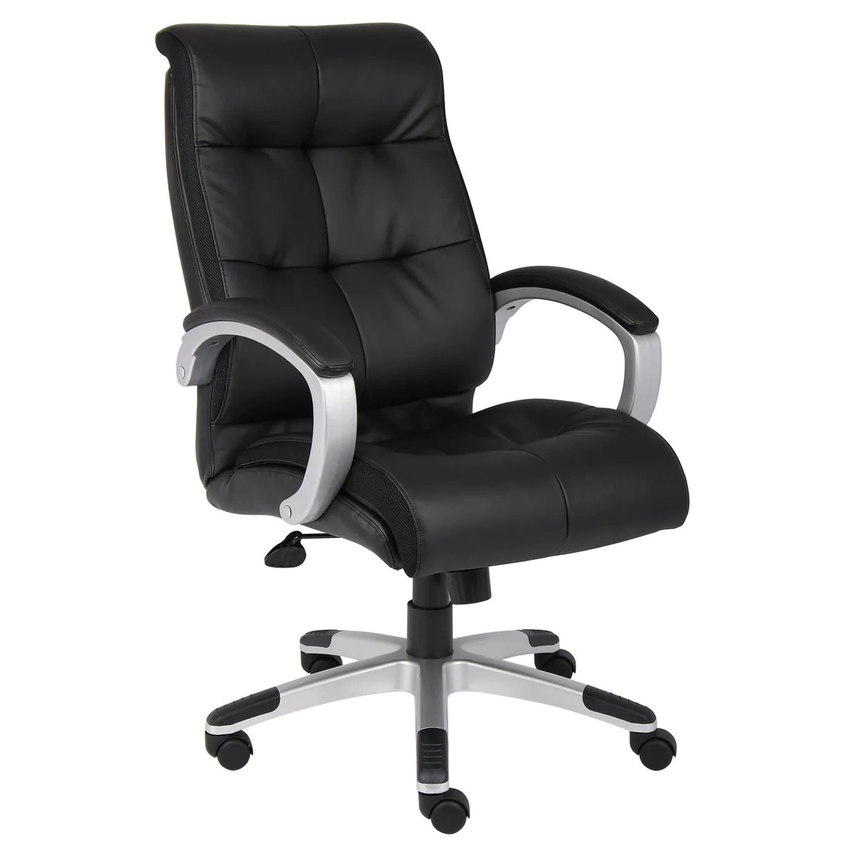 Plush Chairs Boss Chairs Boss B8771s Bk Double Plush High Back Executive Chair