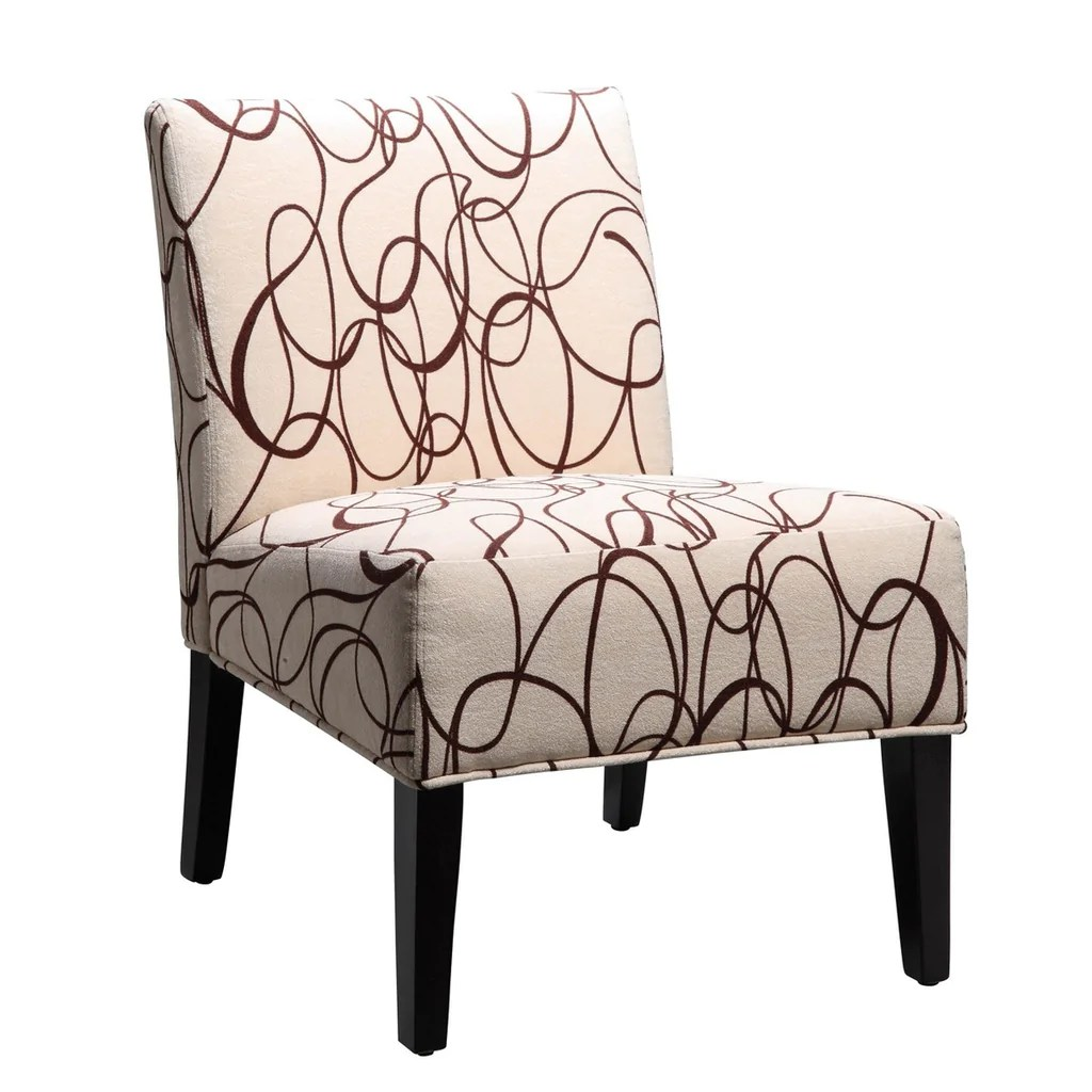 Armless Lounge Chair Homelegance Lifestyle Armless Lounge Chair