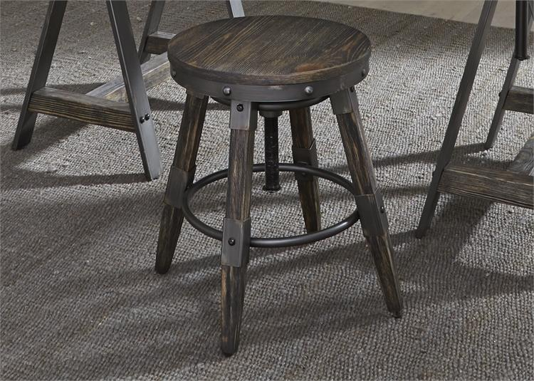 Liberty Furniture Pineville 5 Piece Gathering Table Set