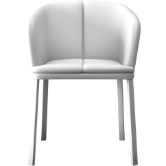 Modloft Dining Chair Lazy Boy Lift Chairs Leather Como In White Beyond Stores