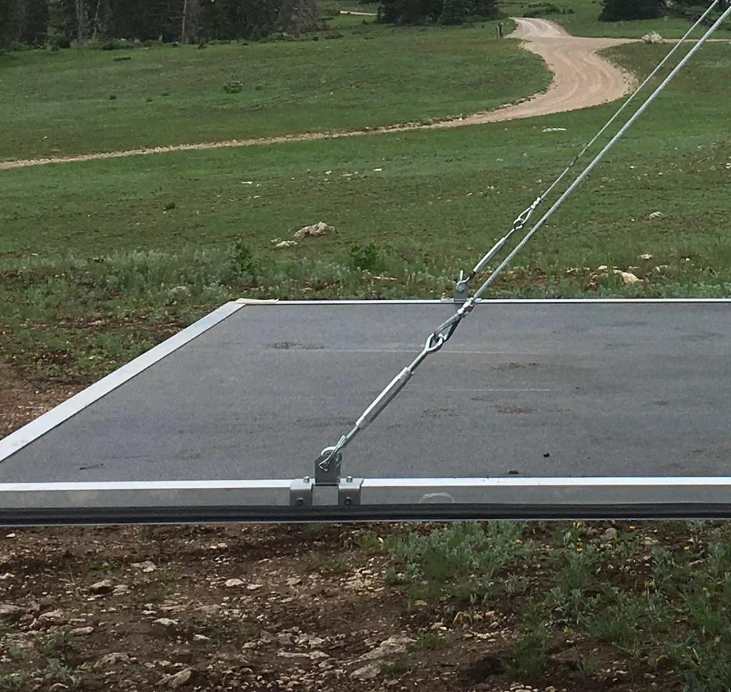 rv toy hauler patio conversion cable
