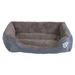 Big Dog Sofa Bed Chippendale Sofas Paw Print Fleece Large Wagging Tail Outlet