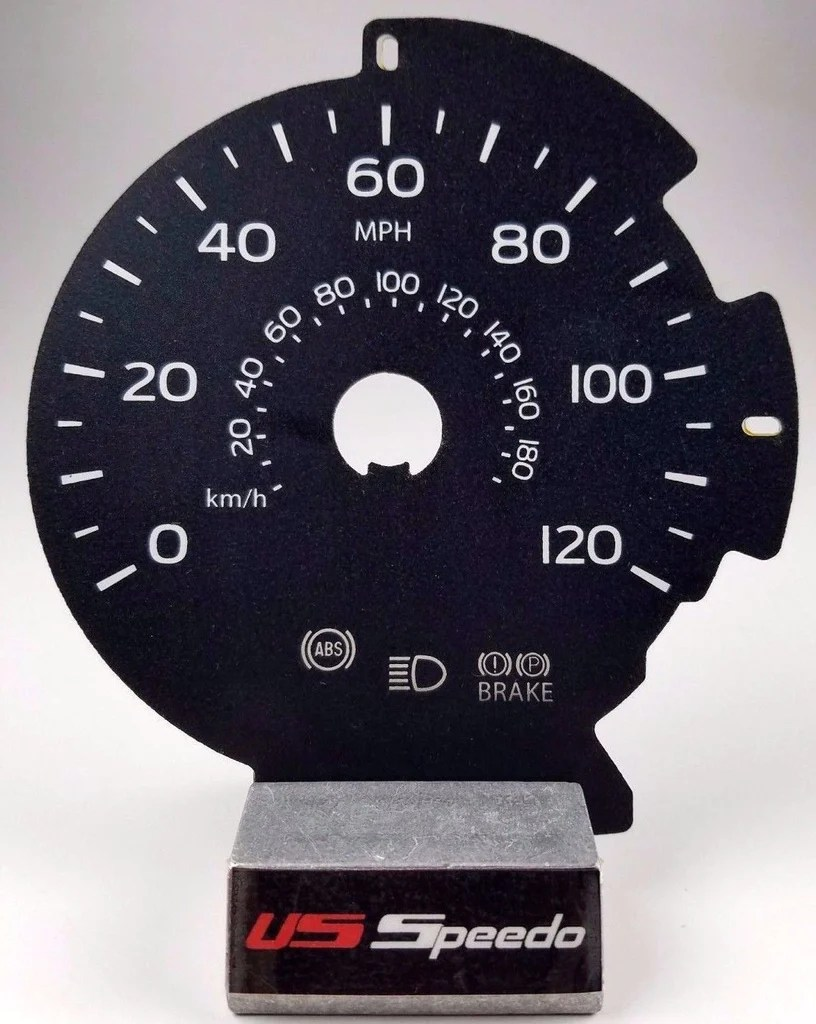 2015 2017 ford f150 lariat mph gauge face fits f150 with 8 inch info screen [ 816 x 1024 Pixel ]
