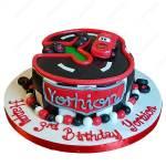 Lightning Mcqueen Cars Cake Cakesburg Online Premium Cake Shop