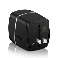 Plug Power Q2 Wiring Diagram Reversing Circuit Bonazza Universal World Travel Adapter W 4 Fast Charging International Kit With 4amps Usb Ports Uk Us