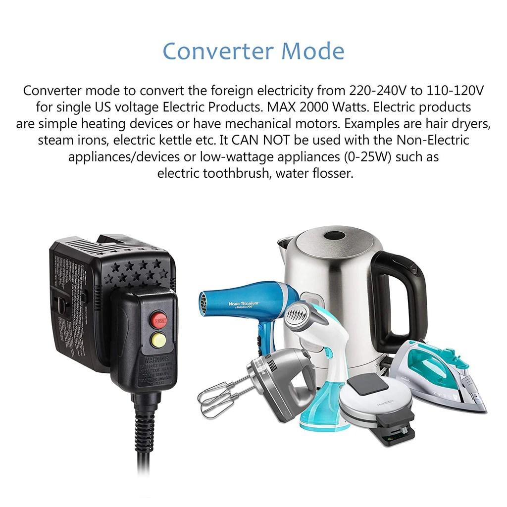 Convert 220v To 110v Appliance
