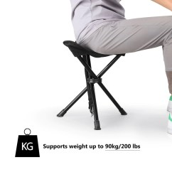 Fishing Chair Argos Desk With Back Support Portable Tripod Stool Folding  Enkeeo