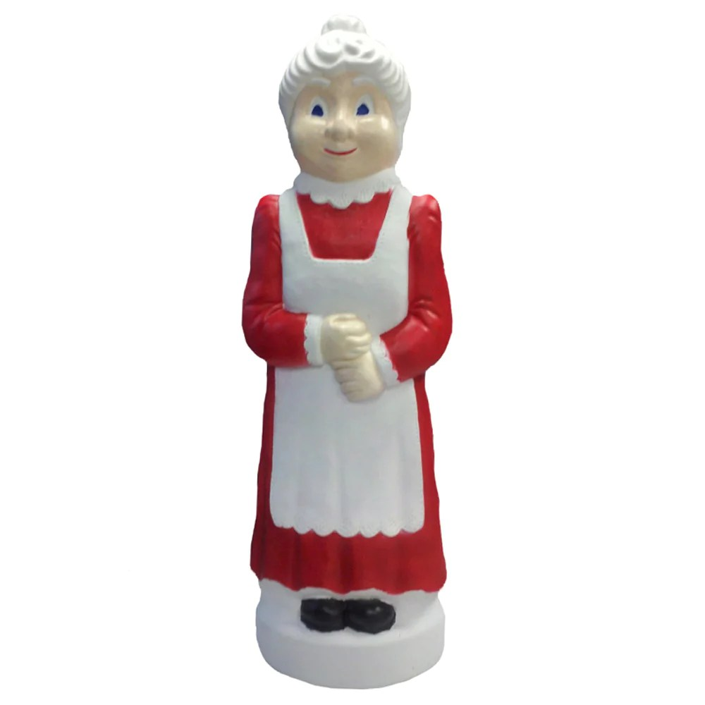 """40"""" . Claus Blow Mold Christmas Decoration"""