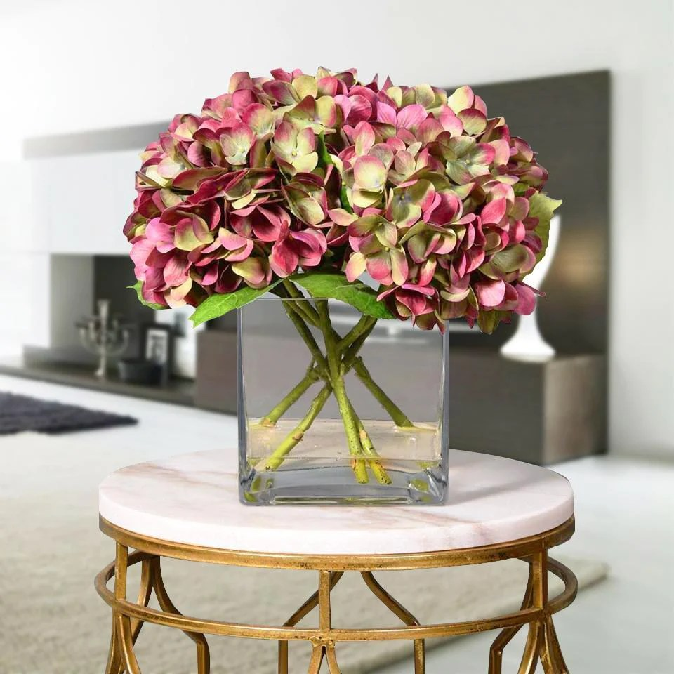 Shop Luxury Artificial Hydrangea Arrangements Bloomr
