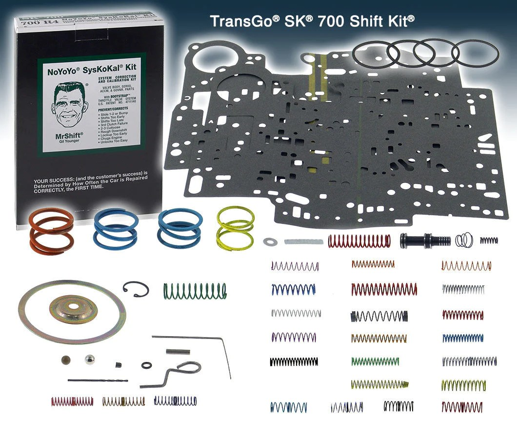 small resolution of 700r4 transmission senior green box shift kit
