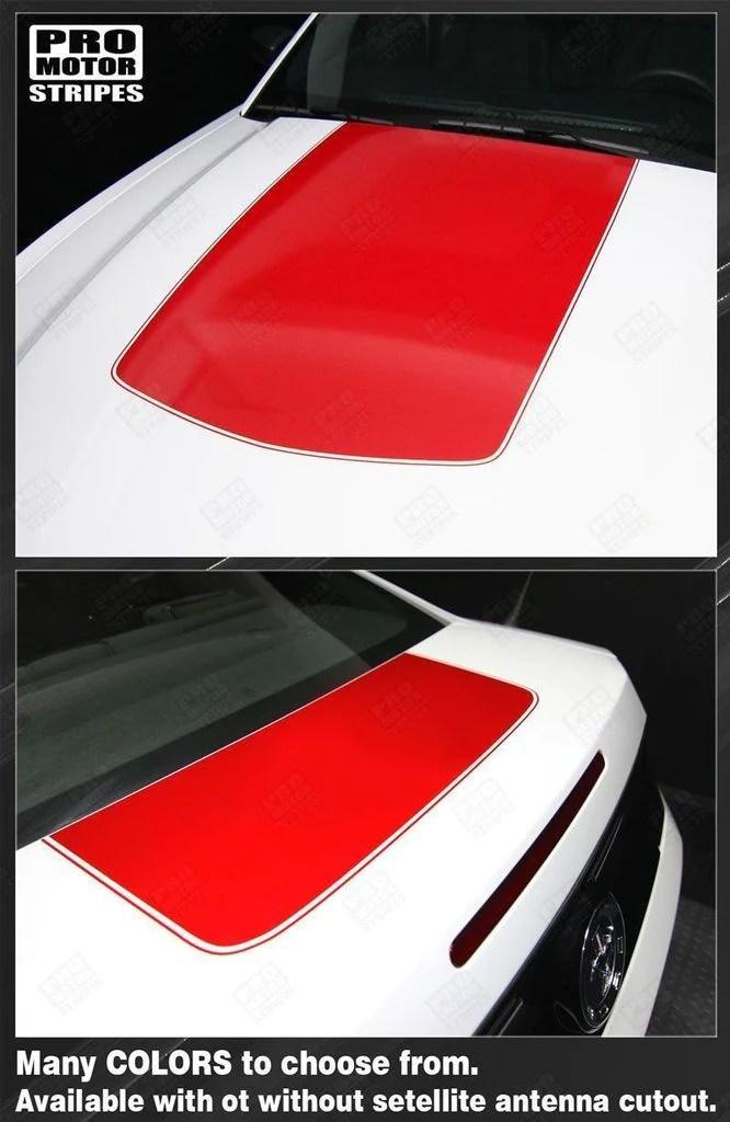 2007 Ford Mustang Hood : mustang, Mustang, 2005-2017, Trunk, Stripes, 122608412255, Motor